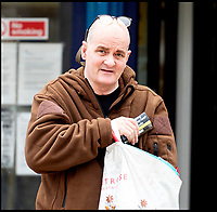 BNPS.co.uk (01202 558833)<br /> Pic:  RogerArbon/BNPS<br /> <br /> Martin Harrison outside Poole Magistrates Court.<br /> <br /> A pet owner has been found guilty of causing 'unnecessary suffering' to his two dogs after allowing them to become obese.<br /> <br /> Staffordshire bull terriers Brucie and Lucy were so overweight they were 'barrel shaped' and buckled under their sheer size.<br /> <br /> Brucie's weight ballooned from a healthy 21kg to 33.5kg (over 5st, 74lbs) after owner Martin Harrison, 58, over-fed him over a three and a half year period.<br /> <br /> Lucy's weight shot up to 29kg (4.6st, 64lbs), classifying her as 'overweight', and she had a chronic ear condition which was not treated, a court heard.