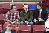 Tom Maguire, Chris Malloy, Michael Sit (BC - 18) - The Boston College Eagles defeated the visiting St. Francis Xavier University X-Men 8-2 in an exhibition game on Sunday, October 6, 2013, at Kelley Rink in Conte Forum in Chestnut Hill, Massachusetts.