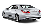 Car pictures of rear three quarter view of 2016 Nissan Altima S 4 Door Sedan Angular Rear