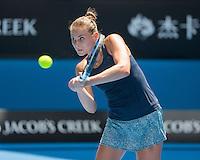 Alexandra Panova (RUS)<br /> <br /> Tennis - Australian Open 2015 - Grand Slam -  Melbourne Park - Melbourne - Victoria - Australia  - 21 January 2015. <br /> &copy; AMN IMAGES