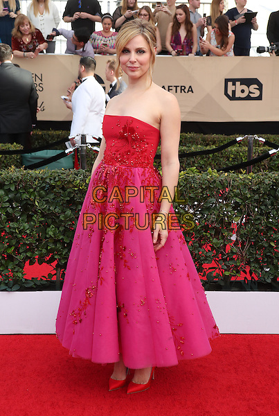 29 January 2017 - Los Angeles, California - Cara Buono. 23rd Annual Screen Actors Guild Awards held at The Shrine Expo Hall. <br /> CAP/ADM/FS<br /> &copy;FS/ADM/Capital Pictures