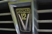 "Pictured: The radiator grille emblem on the bonnet of the Jaguar car up for auction, once owned by Eamonn Holmes<br /> Re: A luxury open-top car sold by TV's Eamonn Holmes to pay off his ""massive"" tax bill is up for grabs at auction.<br /> The host of Good Morning Britain bought the 5.3 litre Jaguar when he was earning big bucks with the BBC.<br /> But Eamonn was made redundant and at the same time he was hit with an £11,000 demand from the Inland Revenue.<br /> The car was costing him a fortune to run - it did under 15mpg.<br /> After paying a whopping £36,000 for the Jaguar XJSC, Eamonn flogged it for just £8,000 a year later.<br /> The car has an identical price tag at auction almost 30 years later.    <br /> Eamonn, 57, told how he got shot of the Jag when the 1990 Gulf War sparked a big hike in fuel prices.<br /> He said: ""Cars are my weakness - in 1989 I bought a British Racing Green Jaguar.<br /> ""I paid £36,000 in March 1989 then in early 1990 the Gulf War broke out."