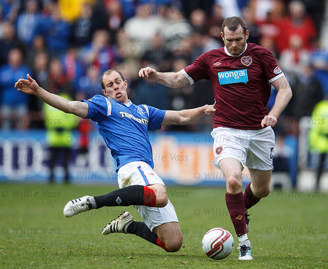 Steven Whittaker and Craig Beattie
