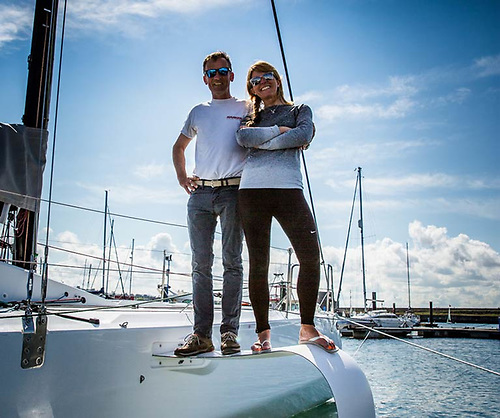 Conor Fogerty and Susan Glenny - Round Ireland Race entry in the doublehanded class