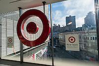 Newly opened Target store in the City Point mall in Downtown Brooklyn in New York on Saturday, February 25, 2017. (© Richard B. Levine)