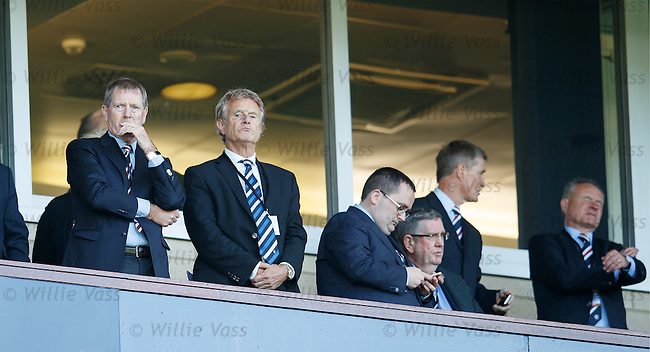 Dave King and Alastair Johnstone
