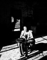 Miss Mo Yun Sook, famed Korean poetess, is telling how she escaped the Communist-led North Koreans when they captured Seoul, by hiding in the mountains until the U.N. forces liberated the city.  November 8, 1950.  Cpl. Robert Dangel. (Army)<br /> NARA FILE #:  111-SC-352692<br /> WAR &amp; CONFLICT BOOK #:  1482