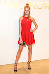 Model Constance Jablonski Attends The Michael Kors Gold Collection Fragrance Launch Held at the Standard Hotel NYC
