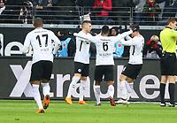 Jubel Luka Jovic (Eintracht Frankfurt) beim 2:0 - 17.03.2018: Eintracht Frankfurt vs. 1. FSV Mainz 05, Commerzbank Arena