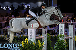 Jérôme Guery of Belgium riding Papillon Z competes in the Masters One DBS during the Longines Masters of Hong Kong at AsiaWorld-Expo on 11 February 2018, in Hong Kong, Hong Kong. Photo by Ian Walton / Power Sport Images