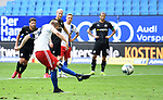 1:2 Tor, Elfmeter, Torschuetze Aaron Hunt (HSV)<br />Hamburg, 28.06.2020, Fussball 2. Bundesliga, Hamburger SV - SV Sandhausen<br />Foto: Tim Groothuis/Witters/Pool//via nordphoto<br /> DFL REGULATIONS PROHIBIT ANY USE OF PHOTOGRAPHS AS IMAGE SEQUENCES AND OR QUASI VIDEO<br />EDITORIAL USE ONLY<br />NATIONAL AND INTERNATIONAL NEWS AGENCIES OUT