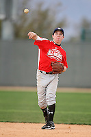 January 16, 2010:  Alex Bregman (ABQ, NM) of the Baseball Factory Pacific Team during the 2010 Under Armour Pre-Season All-America Tournament at Kino Sports Complex in Tucson, AZ.  Photo By Mike Janes/Four Seam Images