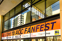 ACC Fanfest during the ACC basketball Tournament  in Charlotte, NC.