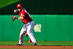 22 April 2010: Washington Nationals' second baseman Adam Kennedy in action against the Colorado Rockies at Nationals Park in Washington, DC. The Rockies shut out the Nationals 2-0 gaining a 2-2 series split. Mandatory Credit: Ed Wolfstein Photo