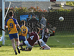 Oliver Plunketts Luke Haggins Kilkerley Ciaran Clarke. Photo:Colin Bell/pressphotos.ie