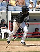 March 29, 2004:  Orlando Hudson of the Toronto Blue Jays organization during Spring Training at Dunedin Stadium in Dunedin, FL.  Photo by:  Mike Janes/Four Seam Images