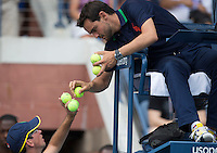 Ambience..Tennis - US Open - Grand Slam -  New York 2012 -  Flushing Meadows - New York - USA - Sunday 2nd September  2012. .© AMN Images, 30, Cleveland Street, London, W1T 4JD.Tel - +44 20 7907 6387.mfrey@advantagemedianet.com.www.amnimages.photoshelter.com.www.advantagemedianet.com.www.tennishead.net