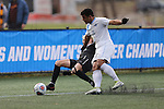 SALEM, VA - DECEMBER 3:Isky Van Doorne (26) of Calvin College and Daniel Sullivan (11) of Tufts University battle for the ball during theDivision III Men's Soccer Championship held at Kerr Stadium on December 3, 2016 in Salem, Virginia. Tufts defeated Calvin 1-0 for the national title. (Photo by Kelsey Grant/NCAA Photos)
