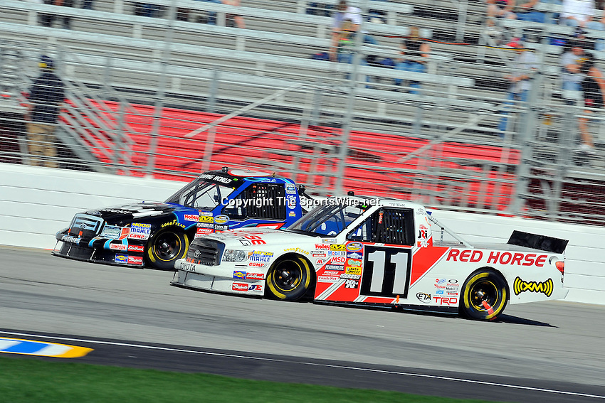 Mar 07, 2009; 2:55:58 PM; Hampton, GA, USA; NASCAR Camping World Truck Series race for the American Commercial Lines 200 at the Atlanta Motor Speedway.  Mandatory Credit: (thesportswire.net)