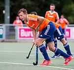 DEN HAAG - Thijs van Dam tijdens de trainingswedstrijd Nederland-Argentinie (1-2). COPYRIGHT KOEN SUYK