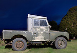 Extremely original and unrestored 1950's Land Rover Series One 86 inch SWB truck cab 2.0 litre petrol. Imported from Australia and exhibited at the Dunsfold Collection 2006 open day. Europe, UK, England, Surrey, Dunsfold. --- No releases available. Automotive trademarks are the property of the trademark holder, authorization may be needed for some uses.