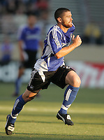 29 June 2005:  Wade Barrett of Earthquakes in action against Rapids at Spartan Stadium in San Jose, California.   Earthquakes defeated Rapids, 1-0.  Mandatory Credit: Michael Pimentel / ISI