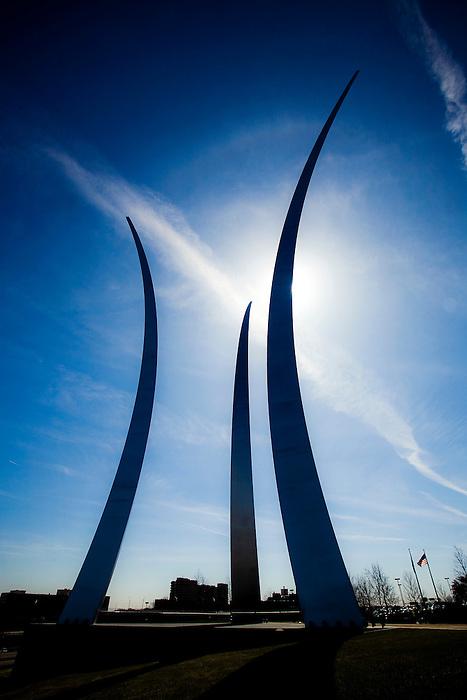 Air Force Memorial Washington DC Arlington Virginia