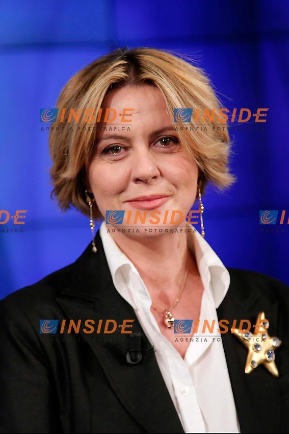 Beatrice Lorenzin<br /> Roma 08-03-2016 Trasmissione Tv Porta a Porta.<br /> TV Show 'Porta a Porta'.<br /> Photo Samantha Zucchi Insidefoto