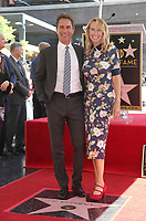 LOS ANGELES, CA - SEPTEMBER 13: Eric McCormack, Janet Holden, at the Hollywood Walk Of Fame Ceremony honoring Eric McCormack in Los Angeles, California on September 13, 2018. <br /> CAP/MPIFS<br /> &copy;MPIFS/Capital Pictures