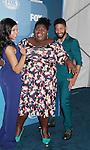 Taraji P. Henson & Gabourney Sidibe & Jussie Smollett - Empire - FOX 2015 Programming Presentation on May 11, 2015 at Wolman Rink, Central Park, New York City, New York.  (Photos by Sue Coflin/Max Photos)