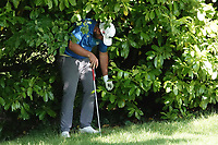 Jack Senior (ENG) itakes a penalty drop during the second round of the Hauts de France-Pas de Calais Golf Open, Aa Saint-Omer GC, Saint- Omer, France. 14/06/2019<br /> Picture: Golffile | Phil Inglis<br /> <br /> <br /> All photo usage must carry mandatory copyright credit (© Golffile | Phil Inglis)