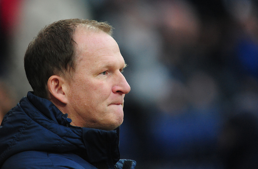 Preston North End manager Simon Grayson <br /> <br /> Photographer Chris Vaughan/CameraSport<br /> <br /> Football - FA Challenge Cup Second Round - Preston North End v Shrewsbury Town - Saturday 6th December 2014 - Deepdale - Preston<br /> <br />  &copy; CameraSport - 43 Linden Ave. Countesthorpe. Leicester. England. LE8 5PG - Tel: +44 (0) 116 277 4147 - admin@camerasport.com - www.camerasport.com