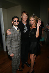 Million Dollar Listing's Josh Flagg, Designer Dan O'Neil and The REal Housewives of New York's Sonja Morgan attend Theia Spring 2014 Presentation Held at the New York Palace, NY