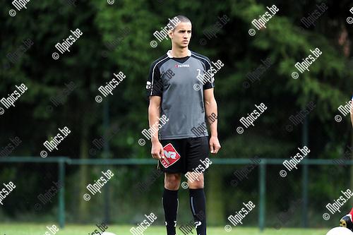 2012-08-01 / Voetbal / seizoen 2012-2013 / KFC Zwarte Leeuw / Mohammed Aznag..Foto: Mpics.be