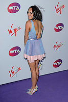 Heather Watson at WTA Pre-Wimbledon Party at Kensignton Roof Gardens, London.<br /> June 25, 2015  London, UK<br /> Picture: Dave Norton / Featureflash