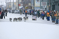 Bjornar Anderson Arrives in Nome 4th Place Iditarod 2005 Front Street