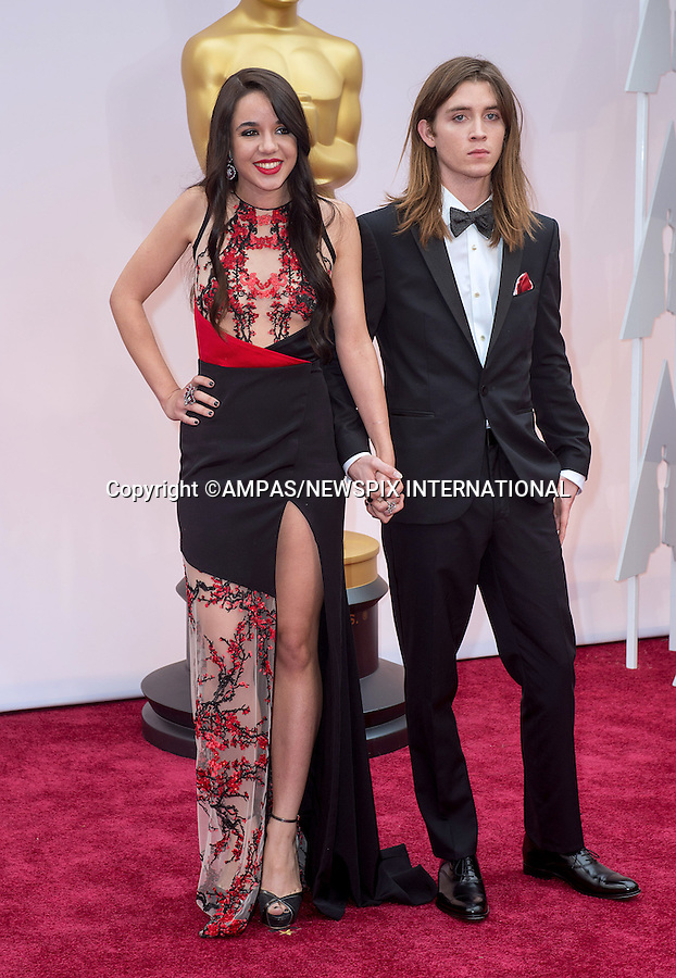 22.02.2015; Hollywood, California: 87TH OSCARS - LORELEI LINKLATER AND JUSTIN JACOBS<br /> Celebrity arrivals at the Annual Academy Awards, Dolby Theatre, Hollywood.<br /> Mandatory Photo Credit: NEWSPIX INTERNATIONAL<br /> <br />               **ALL FEES PAYABLE TO: &quot;NEWSPIX INTERNATIONAL&quot;**<br /> <br /> PHOTO CREDIT MANDATORY!!: NEWSPIX INTERNATIONAL(Failure to credit will incur a surcharge of 100% of reproduction fees)<br /> <br /> IMMEDIATE CONFIRMATION OF USAGE REQUIRED:<br /> Newspix International, 31 Chinnery Hill, Bishop's Stortford, ENGLAND CM23 3PS<br /> Tel:+441279 324672  ; Fax: +441279656877<br /> Mobile:  0777568 1153<br /> e-mail: info@newspixinternational.co.uk