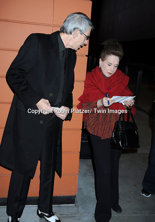 "Richard Belzer and Cindy Adams attending The Opening Night of ""The Pee-Wee Herman Show"" on Broadway .on November 11, 2010 at The Stephen Sondheim Theatre in New York City."