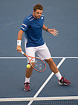 Stanislas Wawrinka (SUI) defeats Kevin Anderson (RSA) 6-4, 6-4, 6-0 at the US Open in Flushing, NY on September 9, 2015.