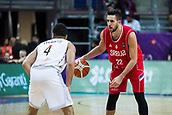 7th September 2017, Fenerbahce Arena, Istanbul, Turkey; FIBA Eurobasket Group D; Belgium versus Serbia; Point Guard Vasilije Micic #22 of Serbia in action during the match