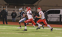 Northside's Tyheen Prosise scores on a long touchdown run during Friday's game at Fort Smith Southside.