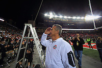 The Ohio State University football team defeat Penn State University 38-10. The Ohio Stadium, Columbus, OH. October 17, 2015