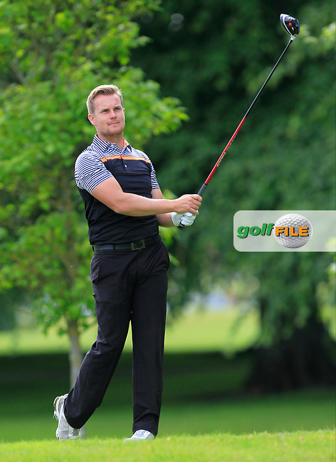 James Scade (Little Channels Golf Centre) on the 2nd tee during Round 2 of the Titleist &amp; Footjoy PGA Professional Championship at Luttrellstown Castle Golf &amp; Country Club on Wednesday 14th June 2017.<br /> Photo: Golffile / Thos Caffrey.<br /> <br /> All photo usage must carry mandatory copyright credit     (&copy; Golffile | Thos Caffrey)