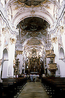 Vienna: St. Charles Borromeo--looking toward altar.