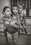 Havana, Cuba:<br /> Three kids on the street