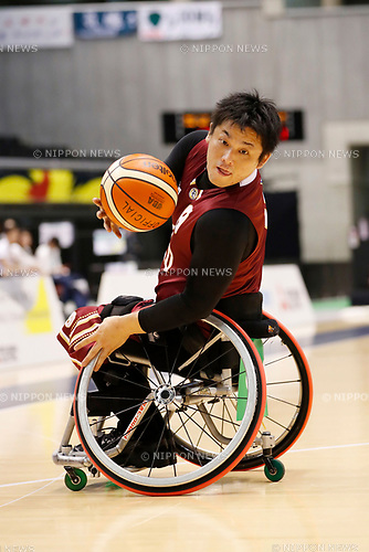 Hisao Takenaka (World), <br /> MAY 4, 2017 - Wheelchair Basketball : <br /> Japan Wheelchair Basketball Championship<br /> semi-final match between NO EXCUSE - World BBC<br /> at Tokyo Metropolitan Gymnasium in Tokyo, Japan. <br /> (Photo by Yohei Osada/AFLO SPORT)