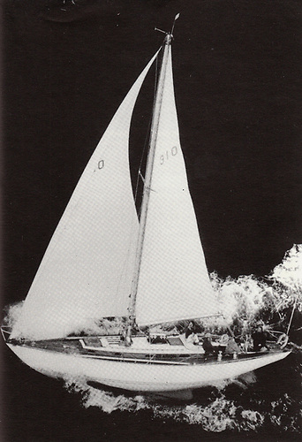 Clarion of Wight racing for Ireland under Rory O'Hanlon's ownership in the 1971 Fastnet Race