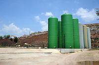 La discarica di Colleferro.Landfill in Colleferro, near Rome.