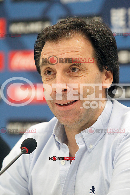 Rayo Vallecano's General Manager Felipe Minambres. August 04, 2015. (ALTERPHOTOS/Acero)