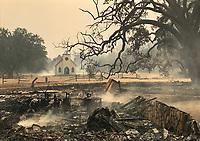 Paramount Ranch Fire Damage
